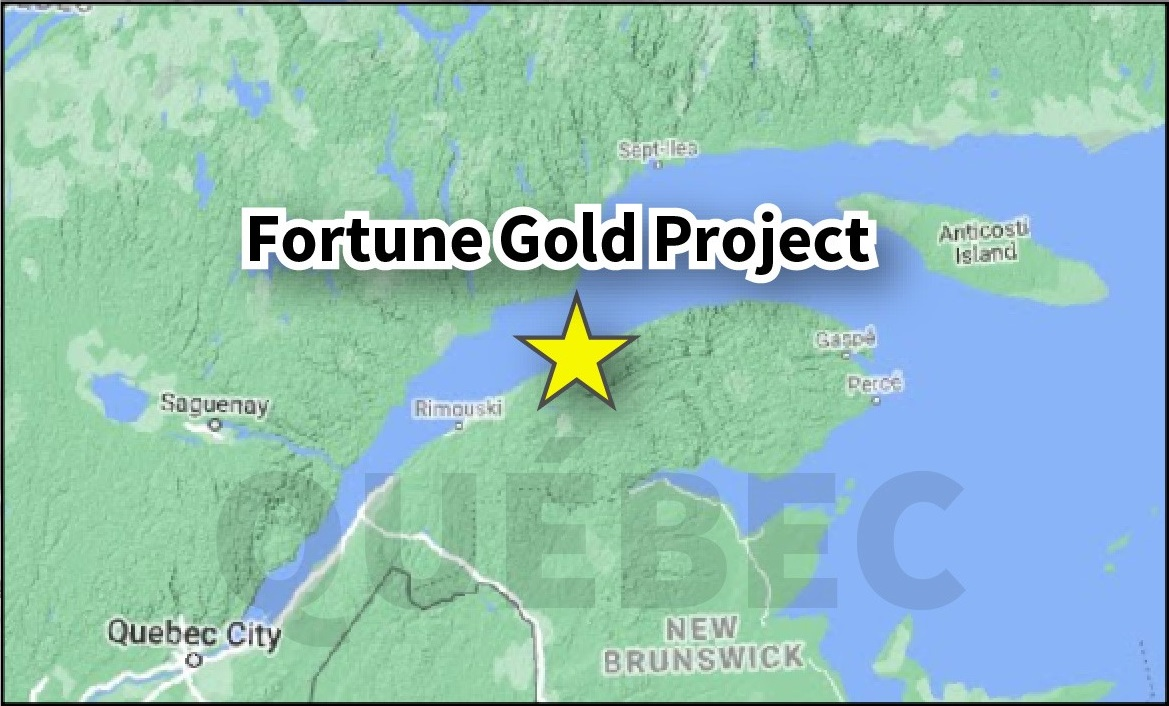 Fortune Location Map