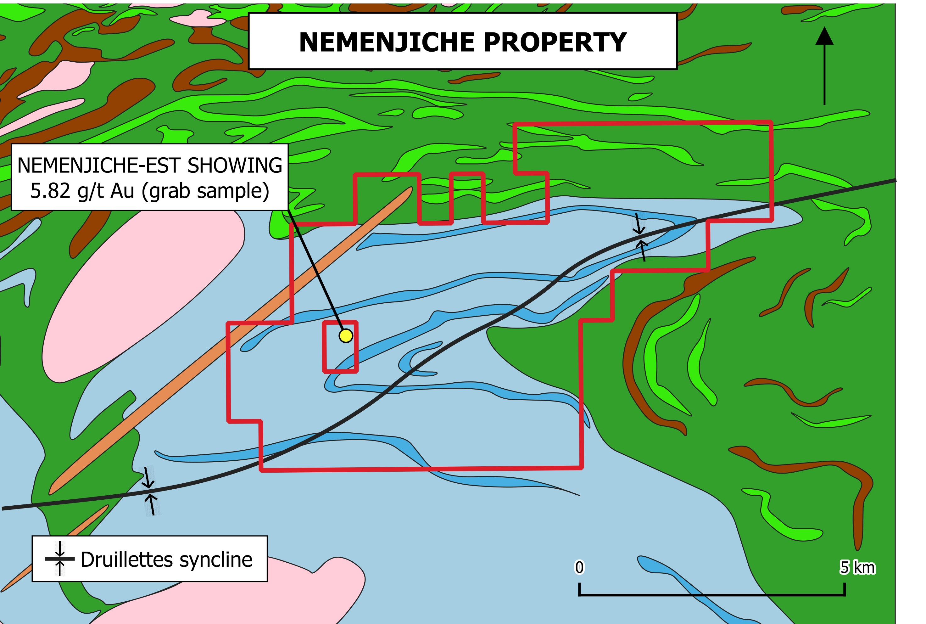 Nemenjiche Regional Map