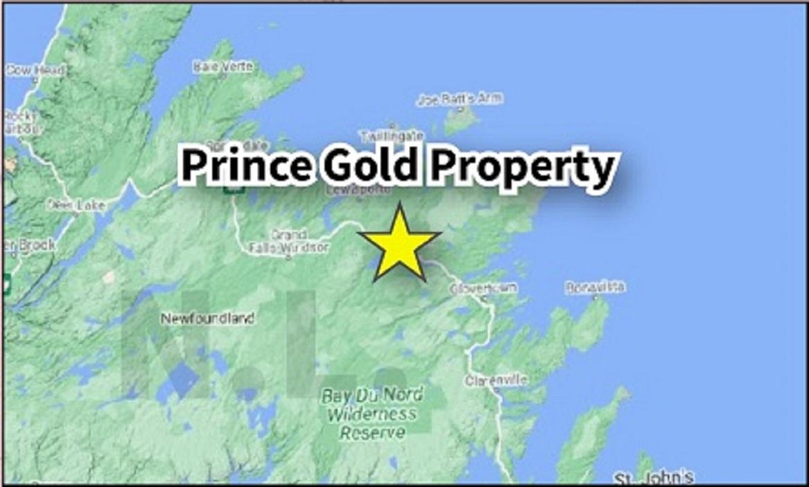 Prince Location Map
